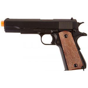 BBTac Airsoft Pistol 1 BBTac BT-1911A1 Metal and ABS Spring Airsoft Pistol 250-FPS Airsoft Gun