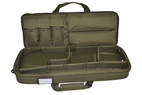Explorer Airsoft Gun Case 1 Explorer Mojo Tactical Rifle Case AR15 Case with Pockets for Magazines