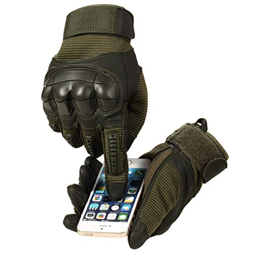 AXBXCX Airsoft Glove 6 AXBXCX Motorcycle Gloves Touch Screen Gloves Full Finger Gloves for Men