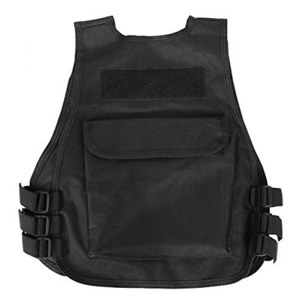 VGEBY Airsoft Tactical Vest 3 Tactical Vest, Adjustable Breathable Lightweight Combat Training Vest Outdoor Hunting, Fishing, Army Fans, CS War Game, Survival Game, Combat Training