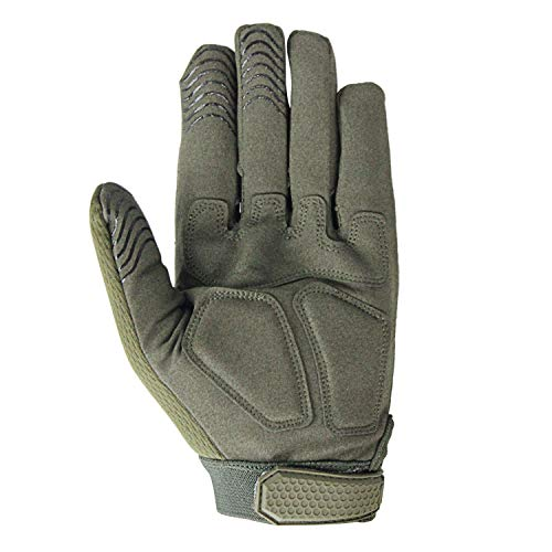 Fuyuanda Airsoft Glove 7 Rubber Protective Guard Full Finger Gloves for Outdoor Cycling Motorbike
