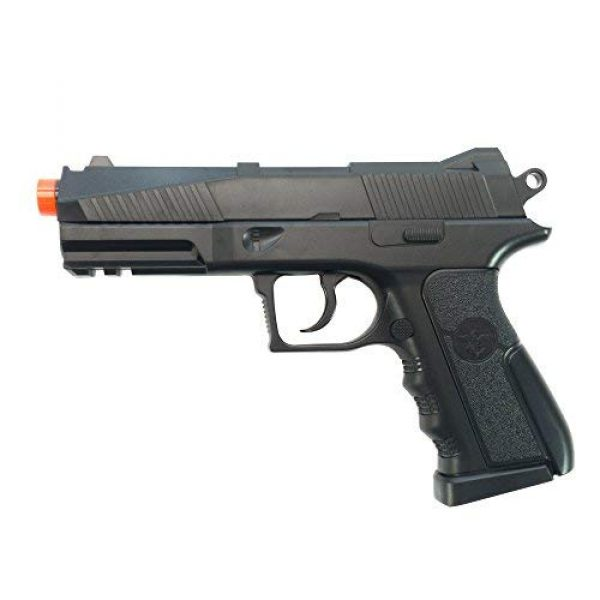 Black Ops Airsoft Pistol 2 Black Ops BR45 Airsoft Pistol - CO2 High Powered 6mm Airsoft Gun