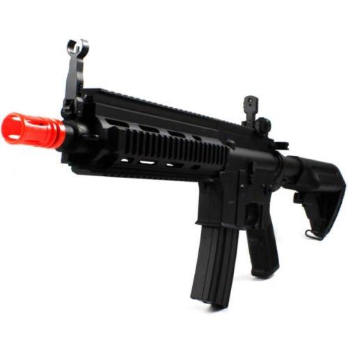 BBTac  2 BBTac Airsoft Rifle M804 416 Full & Semi Auto Electric Gun AEG Shoots 6mm BBS