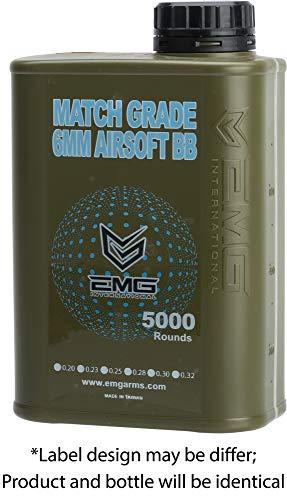 Evike Airsoft BB 3 Evike EMG International Match Grade 6mm Airsoft BBS - 5000 Rounds - Standard and Bio Options