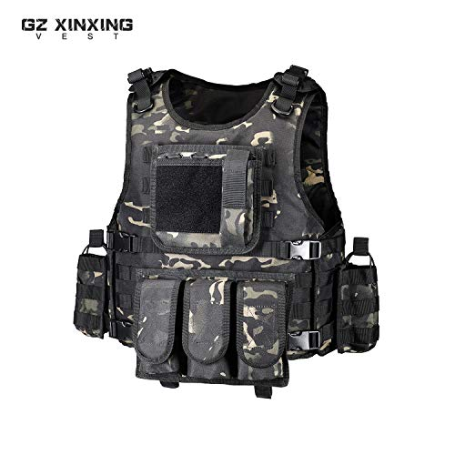 GZ XINXING Airsoft Tactical Vest 2 GZ XINXING Tactical Airsoft Paintball Vest