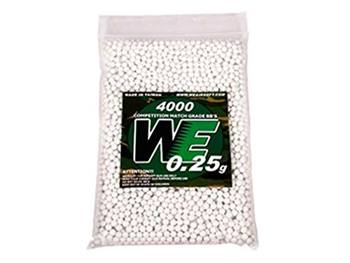 WE Airsoft BB 1 WE Competition Series 6mm Airsoft BBs