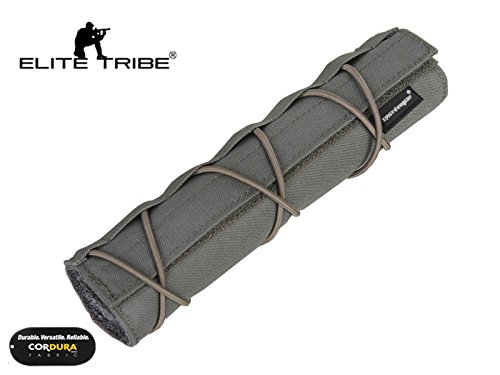Elite Tribe Airsoft Tool 3 Elite Tribe Military Hunting Tactical 22cm Airsoft Suppressor Cover Silencer Cover