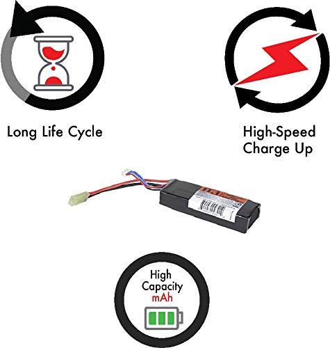 Valken Airsoft Battery 4 Valken Airsoft Battery - LiPo 11.1V 1600mAh 30c Mini Brick Style