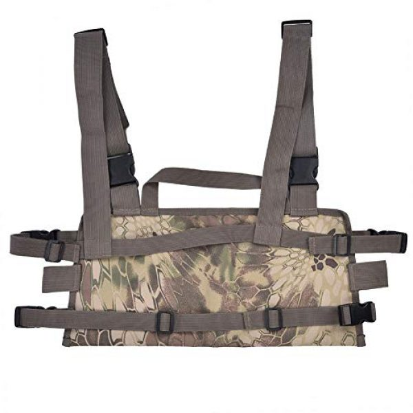 Yencoly Airsoft Tactical Vest 1 Yencoly Combat Vest, Good Flexibility Tactics Vest, Canteens Hospitals for Police Stations Military