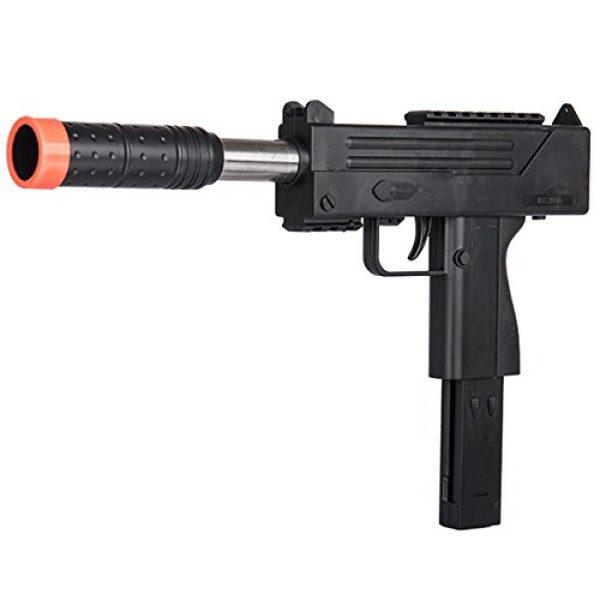 UKARMS Airsoft SMG Rifle 1 UKARMS Spring MAC Uzi Airsoft Gun SMG Pistol w/ 6mm BBS + Detachable Magazine