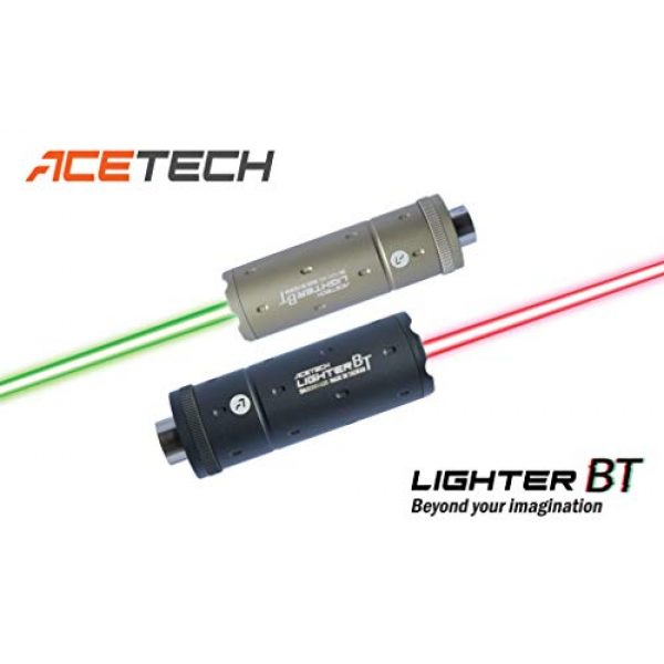ACETECH Airsoft Barrel 2 ACETECH Lighter BT Airsoft Gun 14mm/11mm Pistol Tracer Unit/Chronograph Glow in Dark