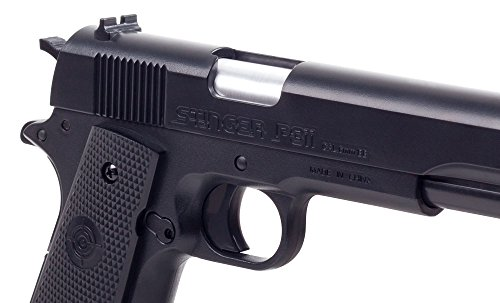 Game Face Airsoft Pistol 2 GameFace ASP311B Stinger P311B Spring-Powered Single-Shot Military-Style Airsoft Pistol