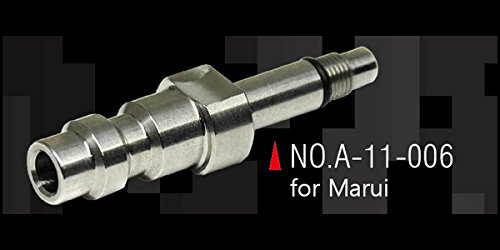 Action Army Airsoft Tool 1 Action Army Tokyo Marui GBB Stainless Steel CNC HPA Adapter Nozzle Valve (US) Made in Taiwan
