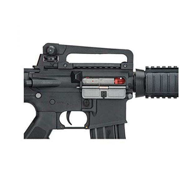 Lancer Tactical Airsoft Rifle 4 LANCER TACTICAL Gen 2 Upgraded RIS LT-04 AEG Metal Gear Electric Airsoft Gun, Black