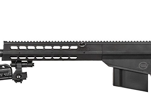 Lancer Tactical  7 Lancer Tactical M82 Polymer Spring Sniper Rifle w/Bipod Airsoft Gun