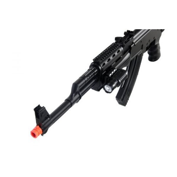 UKARMS Airsoft Rifle 3 UKARMS P48 Airsoft Gun Tactical AK-47 Spring Rifle with Flashlight FPS 250