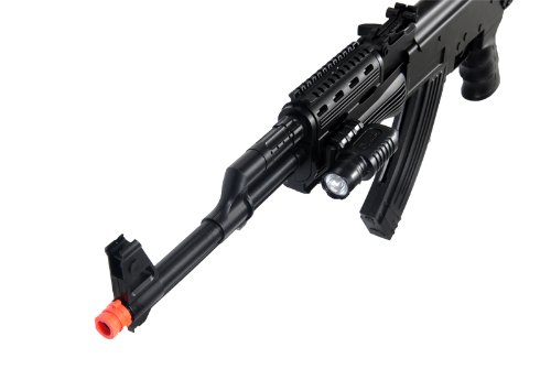 UKARMS  3 UKARMS P48 Airsoft Gun Tactical AK-47 Spring Rifle with Flashlight FPS 250