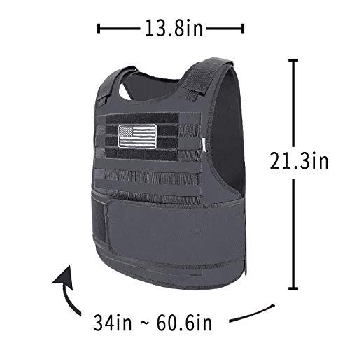Snacam Airsoft Tactical Vest 4 Snacam Tactical Airsoft Vest Molle Vest
