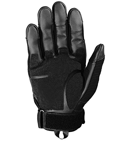 SHAWINGO Airsoft Glove 3 SHAWINGO Touch Screen Tactical Army Military Rubber Hard Knuckle Gloves for Motorcycle Cycling Hunting Airsoft Paintball Shooting