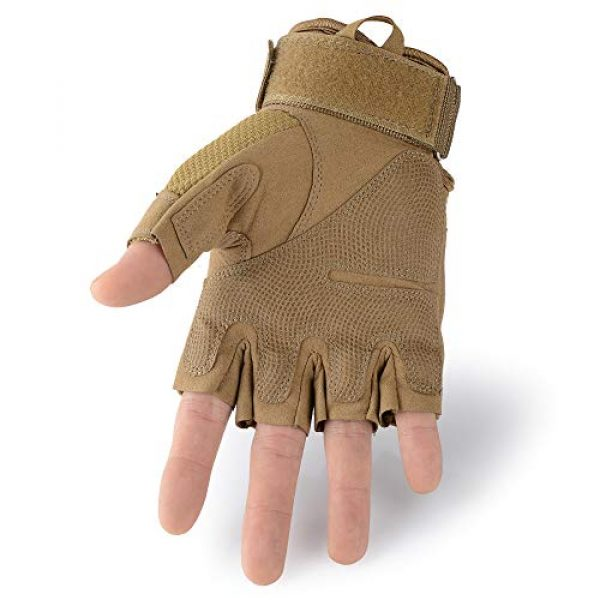 AXBXCX Airsoft Glove 3 AXBXCX Touchscreen Full Finger and Fingerless Gloves for Men