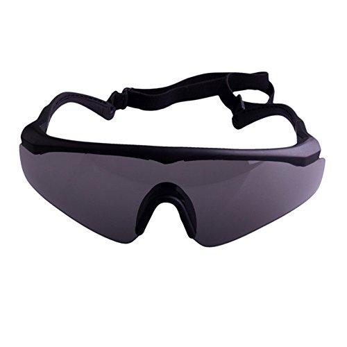 Foritone Airsoft Goggle 2 FORITONE Tactical Ballistic Shatterproof Wrap-Around Sunglasses