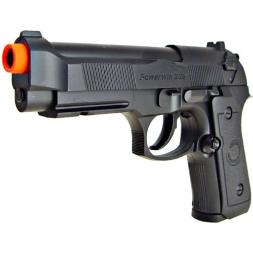 WG Airsoft Pistol 2 500 fps new wg airsoft m9 beretta ris gas co2 hand gun pistol w/ 6mm bb bbs(Airsoft Gun)