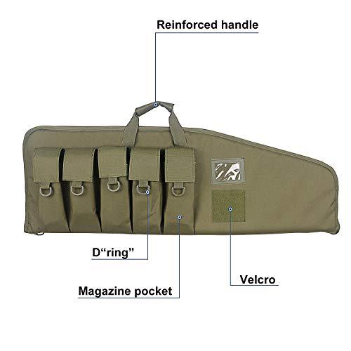 Tactical Long Range Shooting Gun AR-15 Concealed Carry Bag