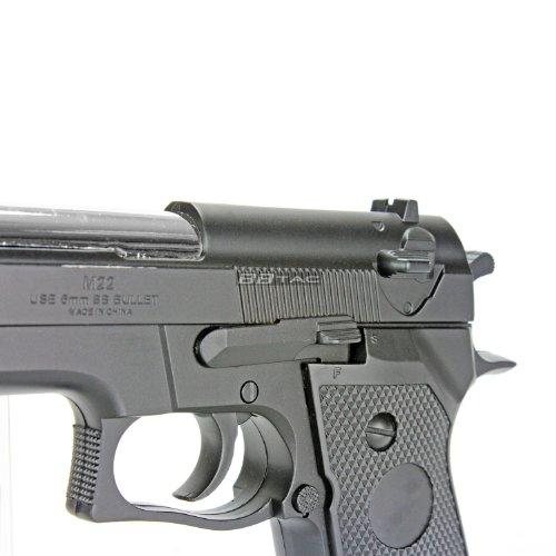 BBTac Airsoft Pistol 2 BBTac Airsoft Pistol BT-M22 Spring Loaded Gun Airsoft Handgun
