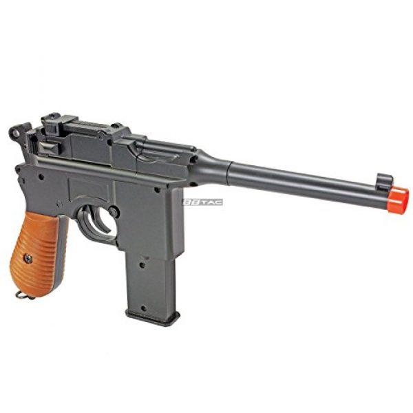 BBTac Airsoft Pistol 3 BBTac BT-712 World War II 165 FPS C96 Metal Zinc Alloy Airsoft Pistol with Magazine