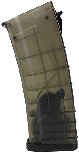 SportPro Airsoft Magazine 1 SportPro 330 Round Polymer Bulgarian High Capacity Magazine for AEG AK47 AK74 Airsoft Transparent