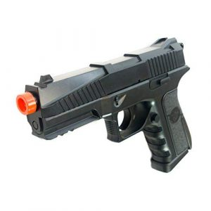 Black Ops Airsoft Pistol 1 Black Ops BR45 Airsoft Pistol - CO2 High Powered 6mm Airsoft Gun