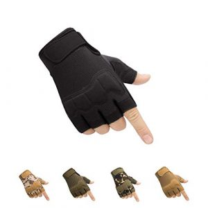 HYCOPROT Airsoft Glove 1 HYCOPROT Fingerless Tactical Gloves