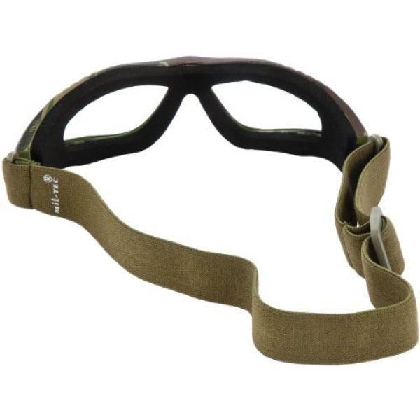 Miltec Airsoft Goggle 2 Mil-Tec Commando Goggles Air Pro Clear Lens Woodland Frame