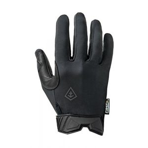 First Tactical Airsoft Glove 1 First Tactical Mens Lightweight Patrol Glove   Skin Tight Goatskin Palm with Touchscreen Capability