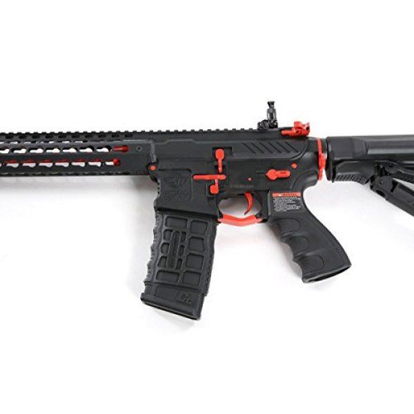 G&G Airsoft Rifle 2 G&G Combat Machine CM16 SRXL 6mm Airsoft AEG Rifle w/KeyMod & MOSFET, Red Edition