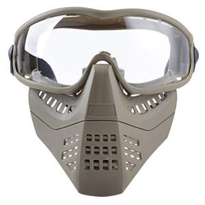 Aoutacc Airsoft Goggle 1 Aoutacc Airsoft Goggles Removable Face Mask