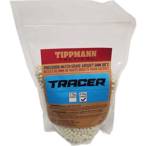 Tippmann Airsoft  1 Tippmann Tracer Precision Match Grade 6mm Airsoft BB's Light Green