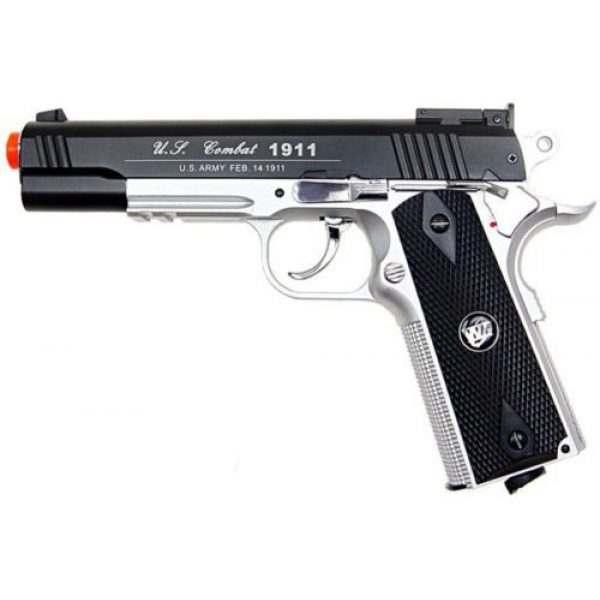 WG Airsoft Pistol 1 500 fps new wg airsoft full metal m 1911 gas co2 hand gun pistol w/ 6mm bb bbs(Airsoft Gun)