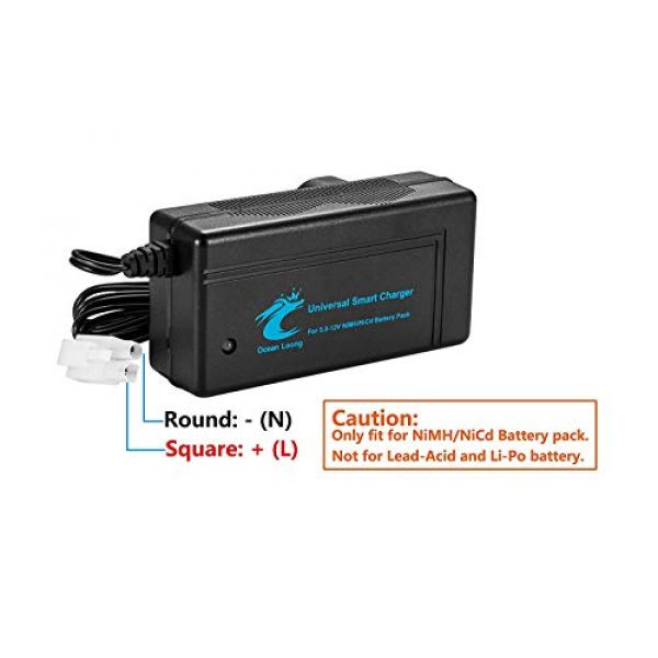 Ocean Loong Airsoft Battery Charger 2 Ocean Loong NiMH Battery Charger for 7.2.V-10.8V Battery Packs