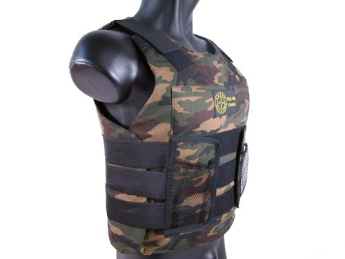 BBTac  2 BBTac Airsoft Protection Vest