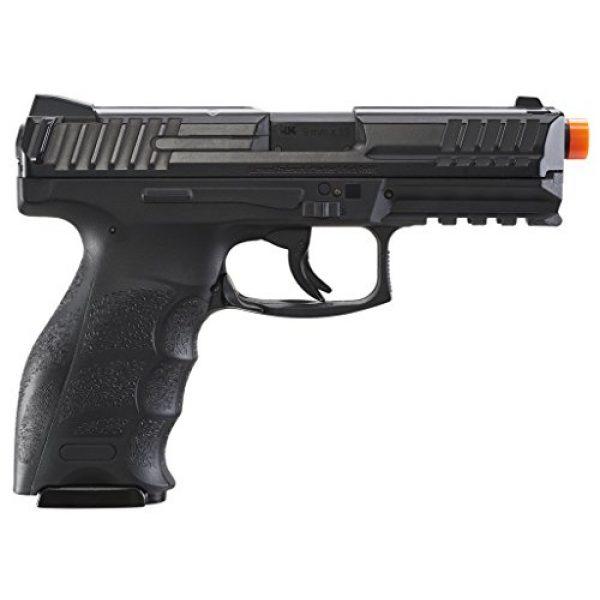 "Umarex USA Airsoft Pistol 3 Umarex USA, H&K VP9, 6mm, 3 1/2"" Smooth Barrel, 14 Rounds, Black"