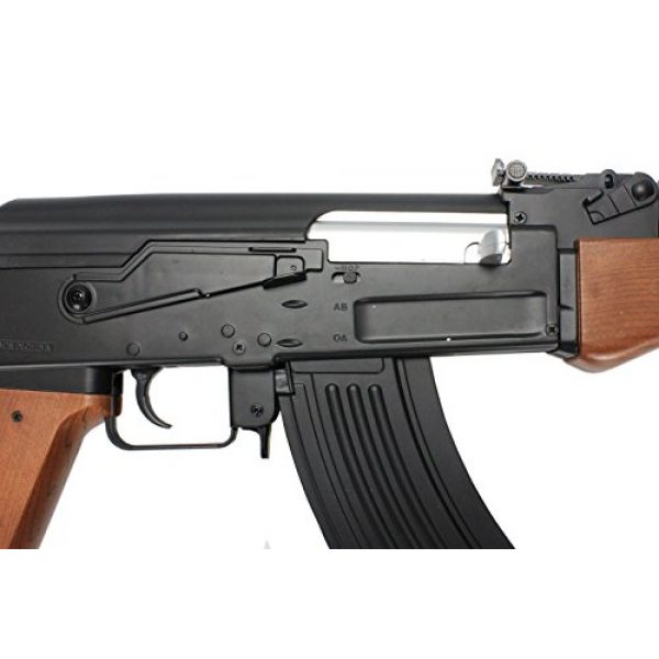 BBTac Airsoft Rifle 6 BBTac BT-022 Airsoft Gun Electric Rifle Full Size Automatic, large magazine, ready to play package