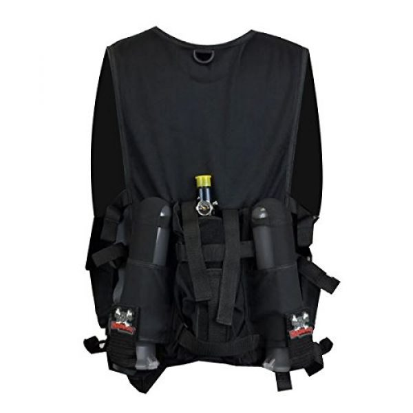 Maddog Airsoft Tactical Vest 2 Maddog Tactical Attack Vest w/Pods & Standard Remote Coil Paintball Package