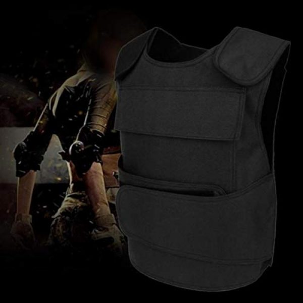 BESPORTBLE Airsoft Tactical Vest 4 BESPORTBLE Tactical Paintball Vest Army Airsoft Adjustable Vest Assurance Bullet Supplement Vest for Cosplay Combat War Game