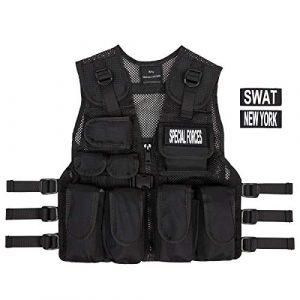 KAS Airsoft Tactical Vest 1 Kids Special Forces Stealth Combat Vest