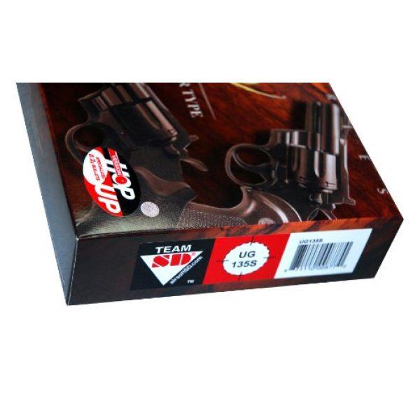 UHC Airsoft Pistol 2 941 UHC 8 inch revolver, Silver airsoft gun
