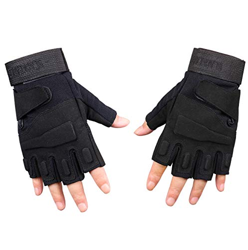 ThreeH Airsoft Glove 5 ThreeH Sports Gloves Half Fingers Wear Rsistant Sports Gloves GL06