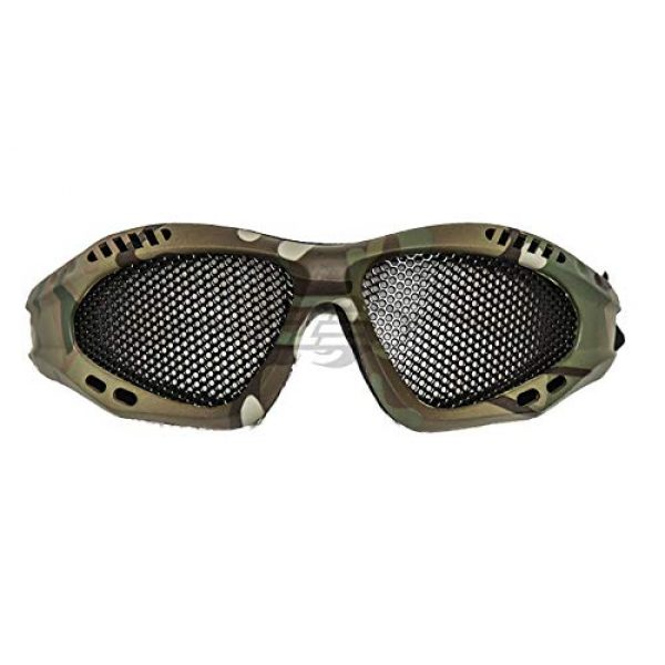 Lancer Tactical Airsoft Goggle 2 Lancer Tactical Emerson Low Profile Full Seal Mesh Goggles (Camo)