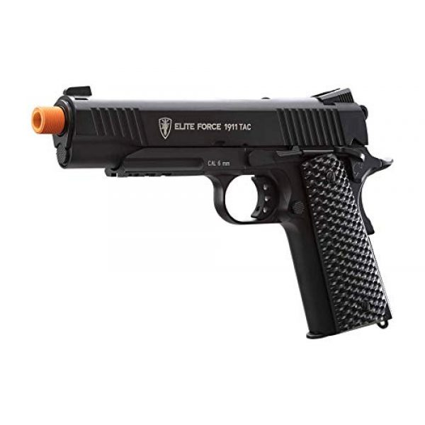 Wearable4U Airsoft Pistol 2 Wearable4U Umarex Elite Force 1911 TAC Gen3 Airsoft Pistol with Included 5x12 Gram CO2 Tanks Pack of 1000 6mm 0.20g BBS Bundle