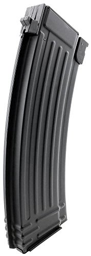 SportPro Airsoft Magazine 5 SportPro CYMA 150 Round Metal Medium Capacity Magazine for AEG AK47 AK74 Airsoft Black